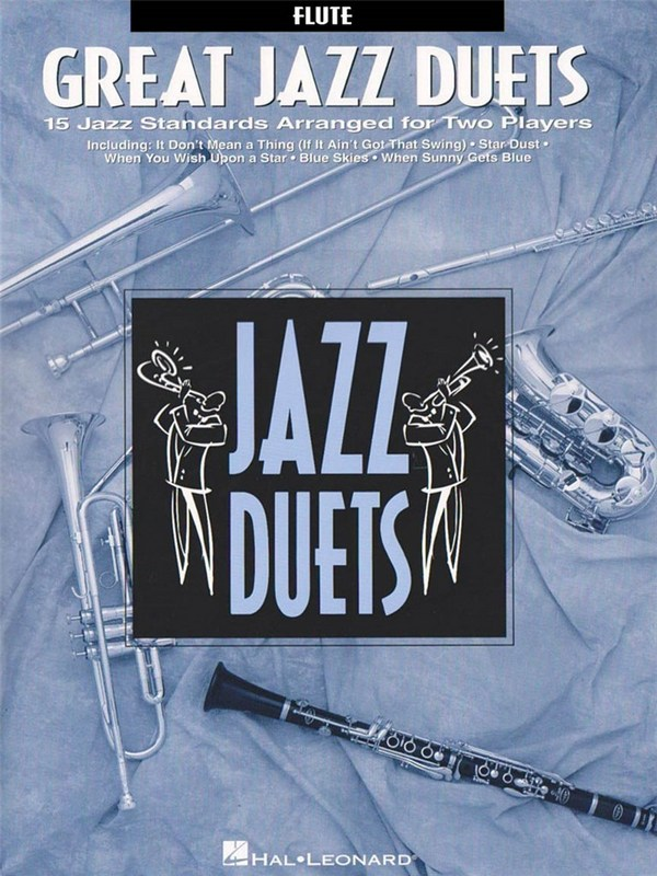 Great Jazz Duets: for flutes