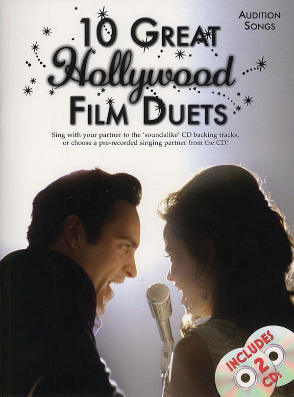 10 great Hollywood Film Duets (+CD): for 1-2 voices and piano