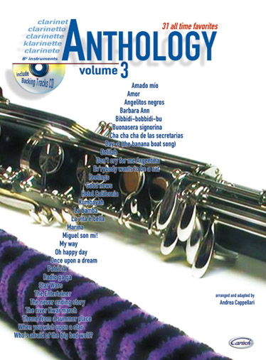 Anthology vol.3 (+CD): for clarinet