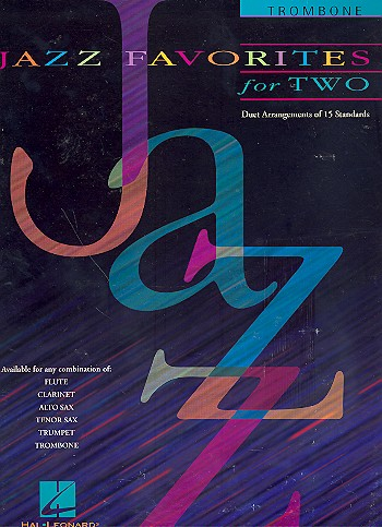 Jazz Favorites for two: for 2 trombones score