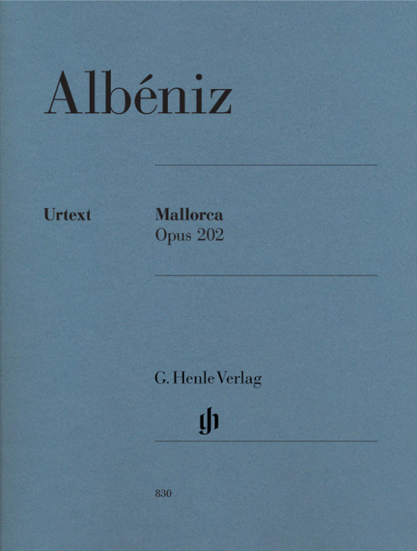 Albéniz, Isaac Manuel - Mallorca op.202 : für Klavier