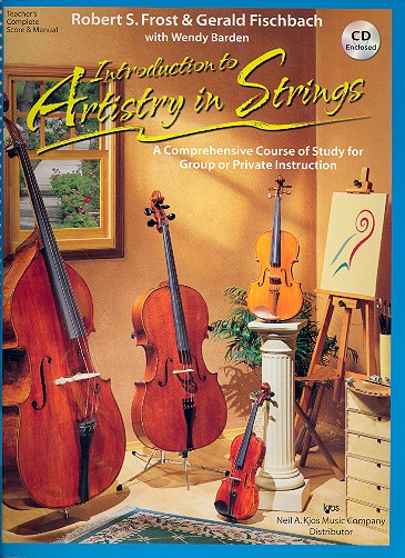 Introduction to Artistry in Strings (+CD): score