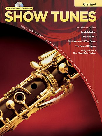 Show Tunes (+CD): for clarinet
