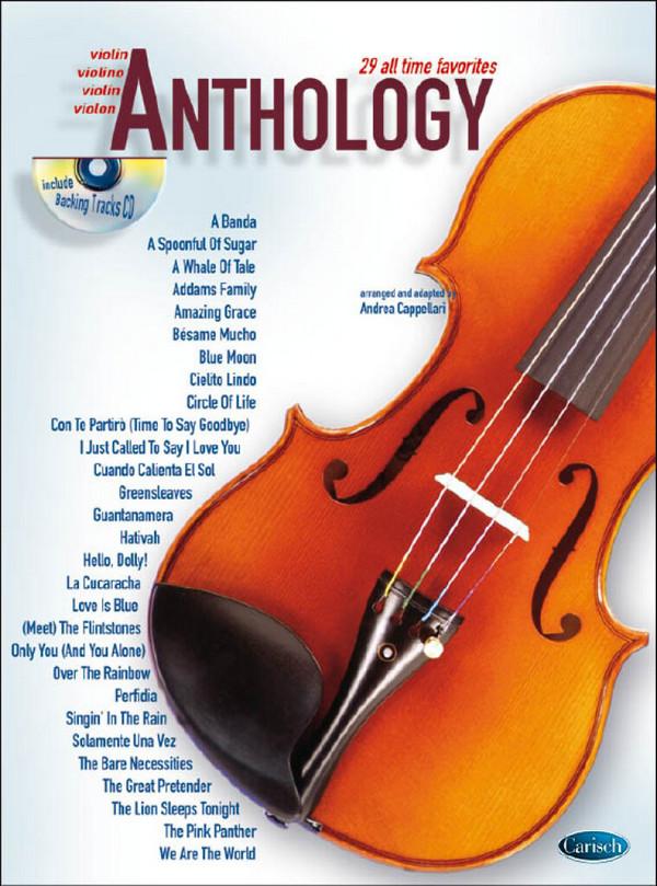 Anthology vol.1 (+CD): for violin