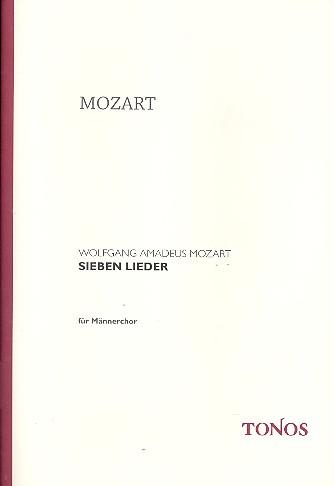 7 Lieder für Männerchor a cappella