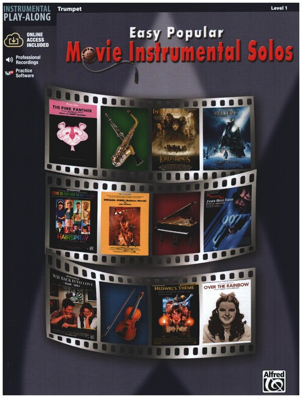 Easy popular Movie Instrumental Solos (+CD): for trumpet