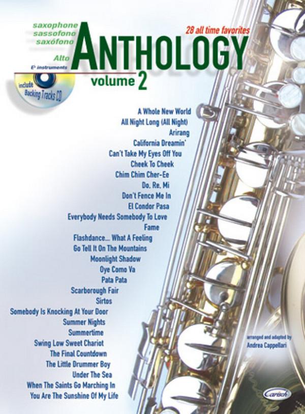 Anthology vol.2 (+CD): for alto saxophone