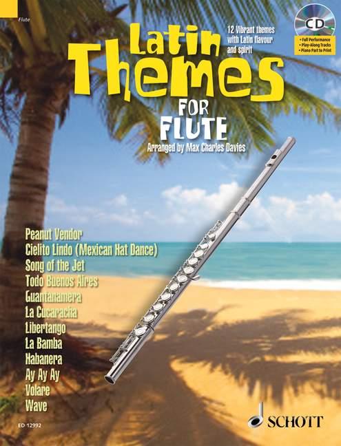 Latin Themes (+CD): für Flöte (Klavierbegleitung als PDF zum Ausdrucken)