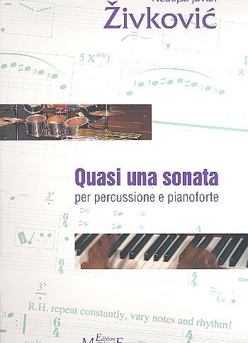 Quasi una sonata op.29: für Percussion und Klavier