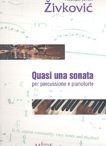 Quasi una sonata opus.29: für Percussion und Klavier