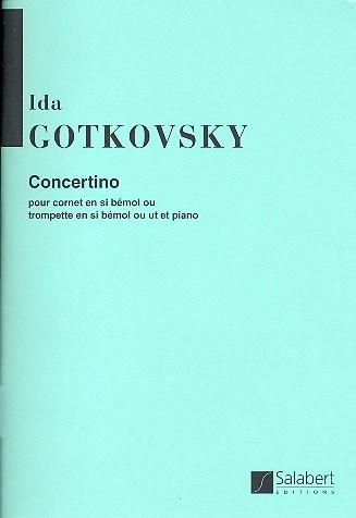 Concertino: für Kornett (Trompete) und Klavier