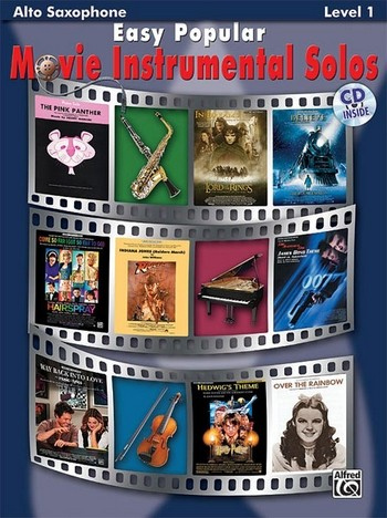 Easy popular Movie Instrumental Solos (+CD): for alto saxophone
