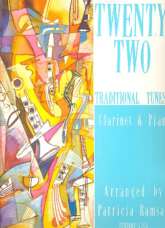 22 traditional Tunes: for clarinet and piano