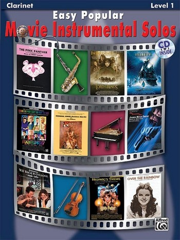 Easy popular Movie Instrumental Solos (+CD): for clarinet