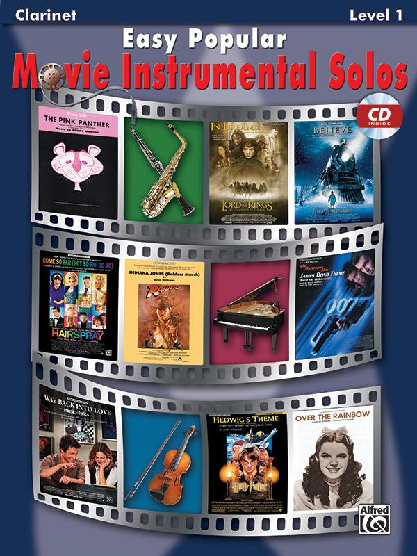 Easy popular Movie Instrumental Solos (+CD): for clarinet