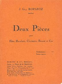 2 pièces: pour flute, hautbois, clarinette, basson et cor
