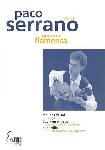 La guitarra flamenca vol.1: für Gitarre/ Tabulatur (dt/en/frz/sp)