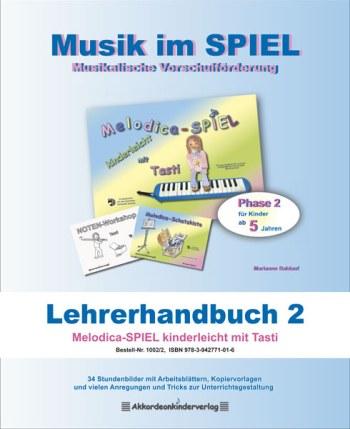 Melodica-Spiel mit Tasti: Lehrerhandbuch Vorschule-Projekt Melodica