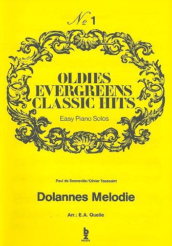 Dolannes Melodie: für Klavier