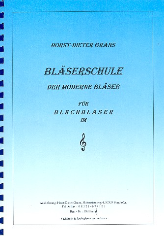 Bläserschule: Der moderne Bläser für Blechbläser im Violinschlüssel