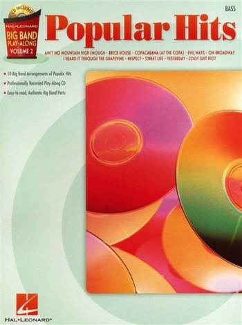 Big Band Play-Along Vol.2 (+CD): Popular Hits for bass
