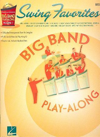 Big Band Play-Along Vol.1 (+CD): Swing Favorites for bass