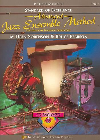 Advanced Jazz Ensemble Method (+CD): for tenor saxophone 1