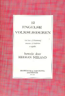 12 english Folk Songs: for female or children\