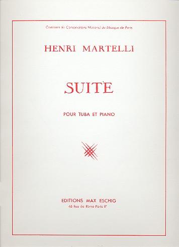 Suite opus.83: pour tuba et piano