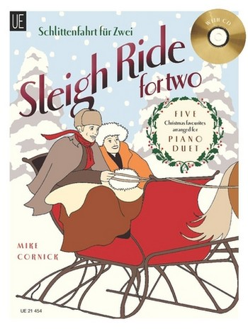 - Sleigh Ride for two (+CD) : for piano duet