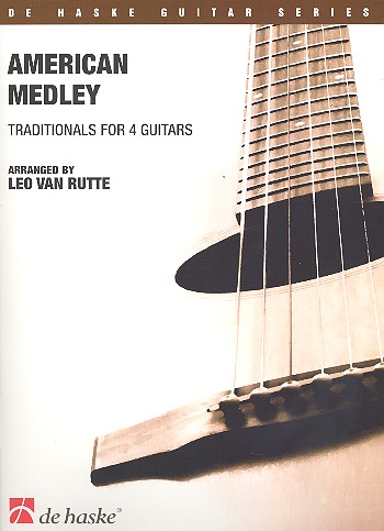 American Medley: for 4 guitars score and parts