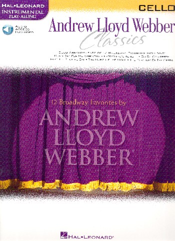 Andrew Lloyd Webber Classics (+Audio Access): for cello