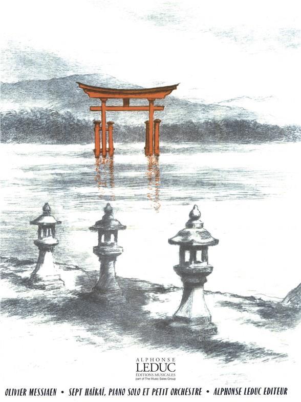 7 Hai-Kai: pour piano solo et petit orchestre piano solo