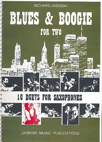 Blues and Boogie for two: for 2 saxophones (AT)