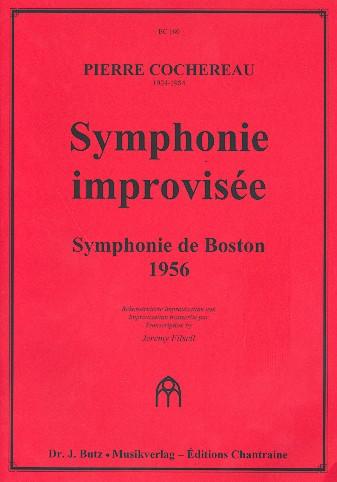 Symphonie improvisée: für Orgel