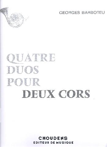 4 Duos: pour 2 cors