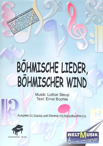 Böhmische Lieder böhmischer Wind: für Klavier (Gesang/Gitarre)