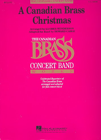 A Canadian Brass Christmas: for concert band