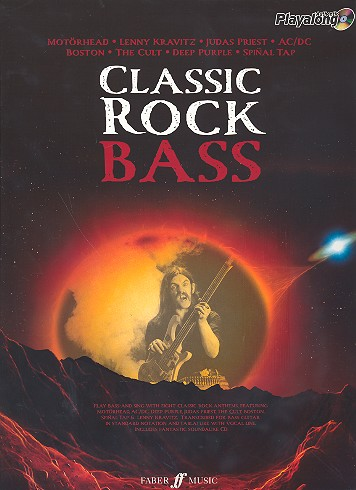 Classic Rock Bass (+CD): songbook vocal/bass/tab