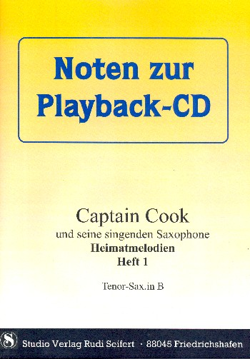- Captain Cook Heimatmelodien Band 1 (+CD) :