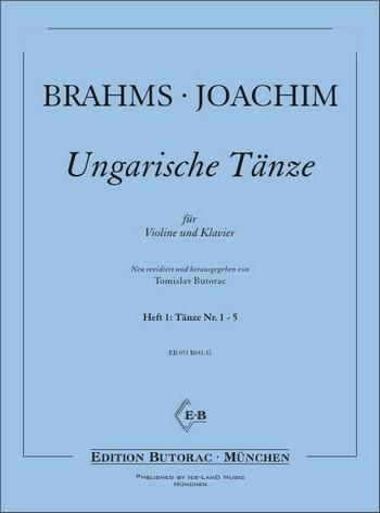 Brahms, Johannes - Ungarische Tänze Band 1 (Nr.1-5) :