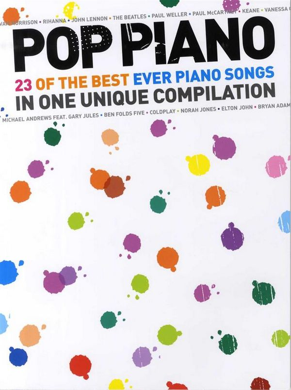 - Pop Piano : 23 of the best ever