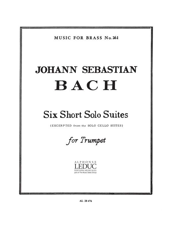 6 short solo Suites: for trumpet