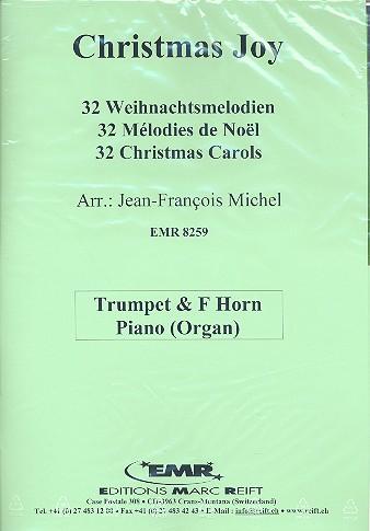 Christmas Joy: für Trompete, Horn in F und Klavier