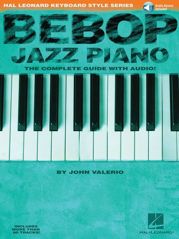 Bebop Jazz Piano (+CD): for piano