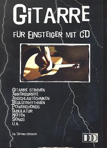 Gitarre für Einsteiger (ohne Noten) (+CD)