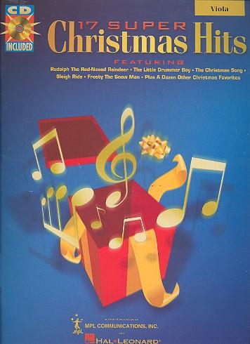 17 super Christmas Hits (+CD): for viola