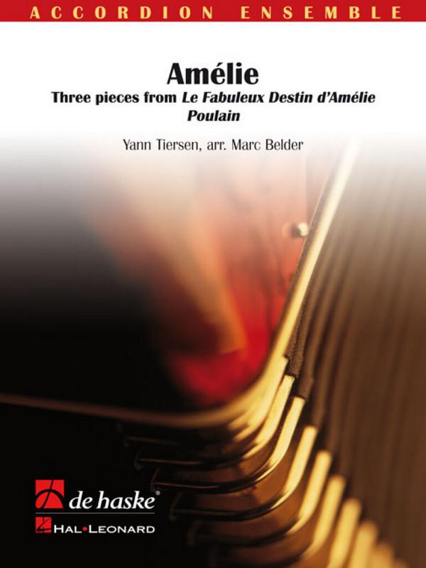 Amélie: für Akkordeonorchester Partitur und Stimmen (4-4-4-4)