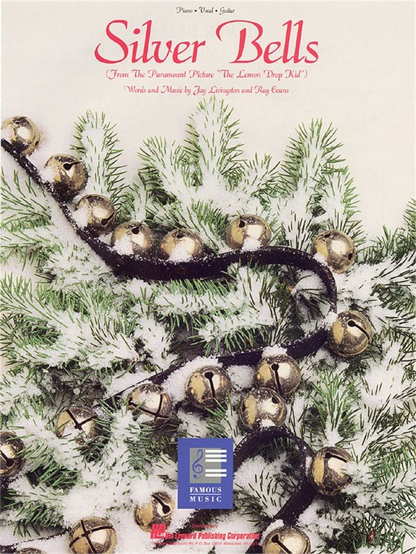 Silver Bells: for piano/vocal/guitar