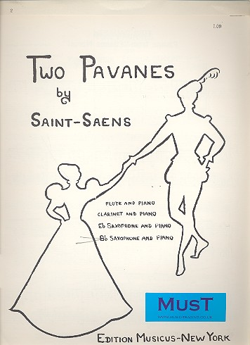 2 Pavanes: for tenor saxophone and piano